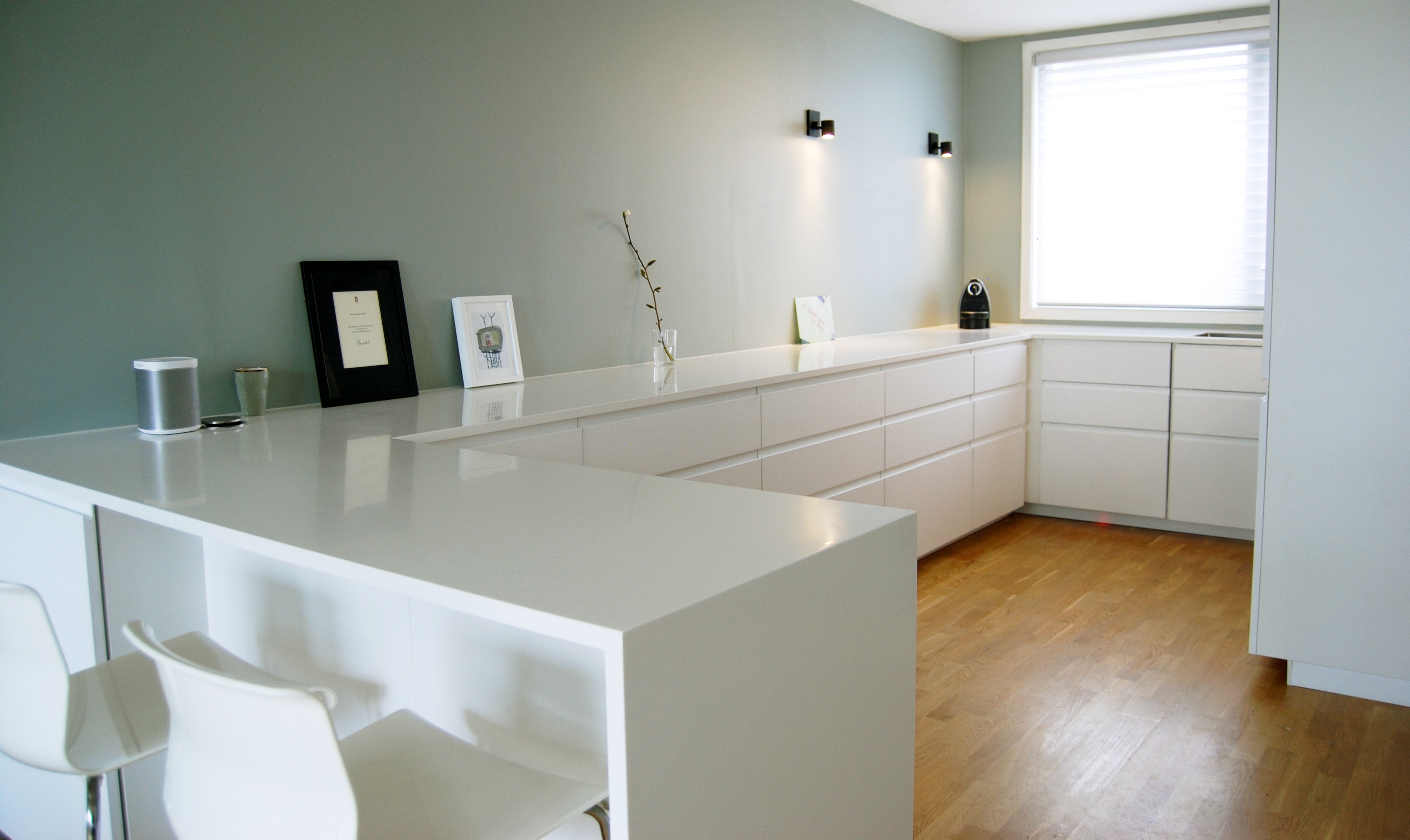 Marvelous We Wanted A New Ikea Kitchen But With A Worktop From Another Dealer. In The  End We Ended Up With A Corian Worktop. When You Weld Your Corian Worktop ...