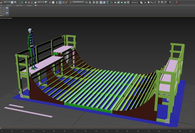 3D rampe